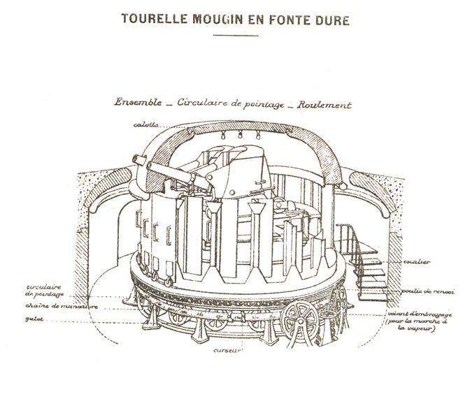 Plan de la tourelle Mougin